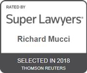 2018 Super Lawyers Award Richard Mucci Winchester MA