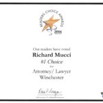 Richard-Mucci-number-one-Lawyer-winchester-MA