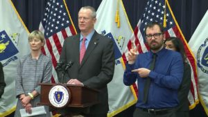 Govenor Baker declares state of emergency-law-firm-winchester-massachusetts